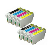 8PC Inkjet cartridge For Epson T1281 T1282 T1283 T1284 Ink Cartridges For Epson Stylus SX125 SX130 SX225 SX420W SX425W BX305F цена 2017