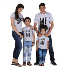 2019 New Family Matching Clothes Cotton Outfits Look T Shirt Father Mother And Son Mom Baby