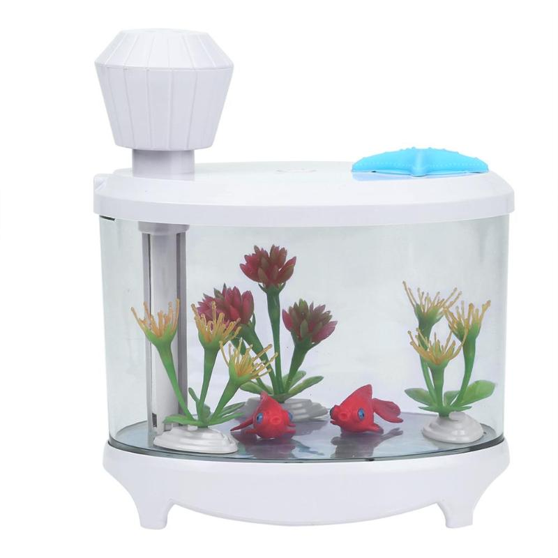 460ml Mini USB Diffuser Air Humidifier USB Spray LED Colorful Glare Night Light Fish Tank Decor  Aquarium Office Home дополнительная фара gofl glare of light gl 0470 3311