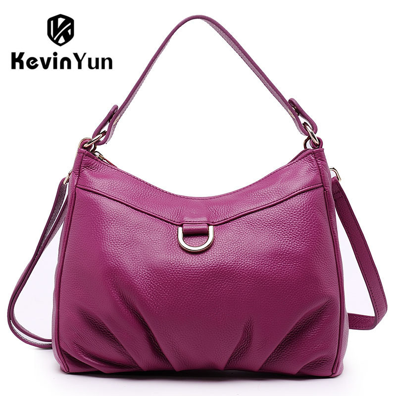 ФОТО KEVIN YUN fashion genuine leather bag small women handbag shoulder bags casual designer women messenger bags female bolsos