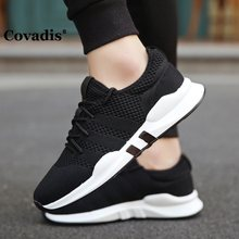 Fashion Outdoor Men White Sneakers High Quality Brand Casual Breathable Shoes Mesh Soft Jogging Tennis Mens Shoes Summer(China)
