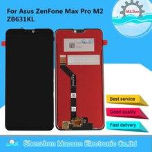 شاشة عرض أصلية 6.26 بوصة لـ ASUS ZenFone Max Pro M2 ZB631KL LCD + لوحة لمس رقمية لشاشة Asus ZB630KL