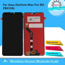 "6.26"" Original M&Sen For ASUS ZenFone Max Pro M2 ZB631KL LCD Display Screen+Touch Panel Digitizer For Asus ZB630KL Display"