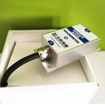 BWK210 Tilt Angle Sensor Single Axis Inclinometer with Accuracy 0.2 Degree Resolution 0.02 Degree / 0-5V , 0-10V (optional)