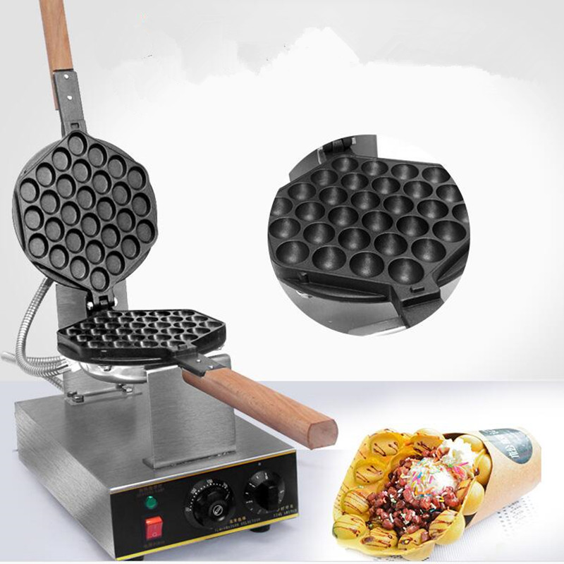 110V 220V Commercial Electric Chinese Hong Kong Eggettes Puff Cake Multifunction Waffle Iron Maker Machine Bubble Egg Cake Oven цена и фото