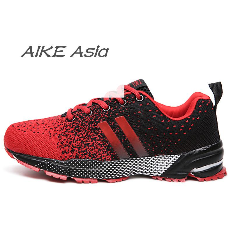 Aike Asia2018 New Flying Mesh Mens Shoes Breathable Shoes Lovers Casual Shoes Brand Design Mens Flat Shoes Do You Want To Buy Some Chinese Native Produce? Men's Shoes Men's Casual Shoes