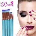 RCMEI 10 unids Profesional sistema de cepillo Del Maquillaje Fundación Suave pelo pinceles de maquillaje con la bolsa