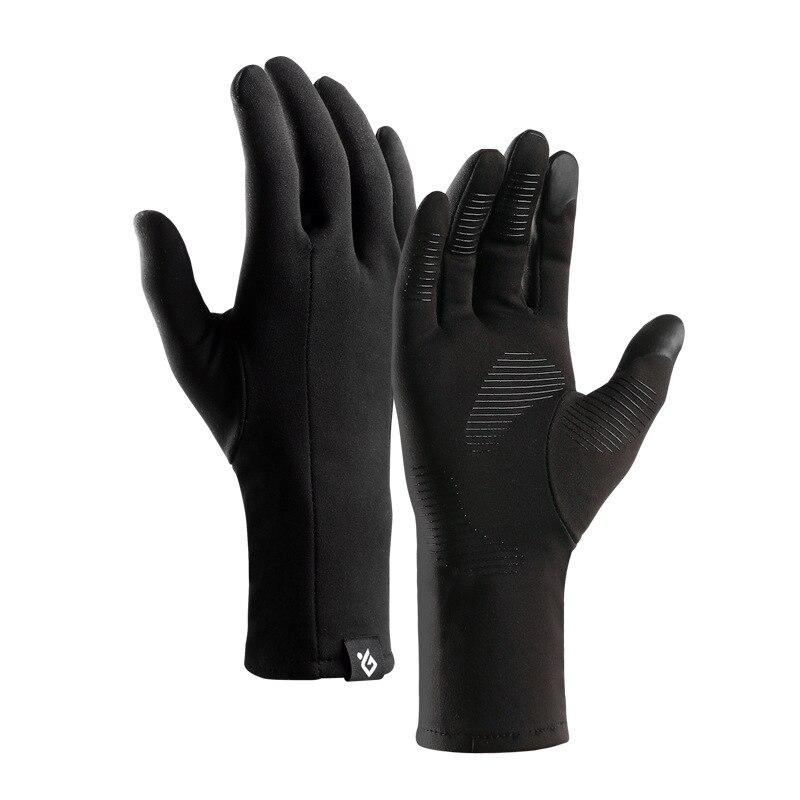 Winter Outdoor Sports Antiskid Gloves Men and Women Touch Screen Mitten Full Finger Windproof Driving Gloves Waterproof Mittens