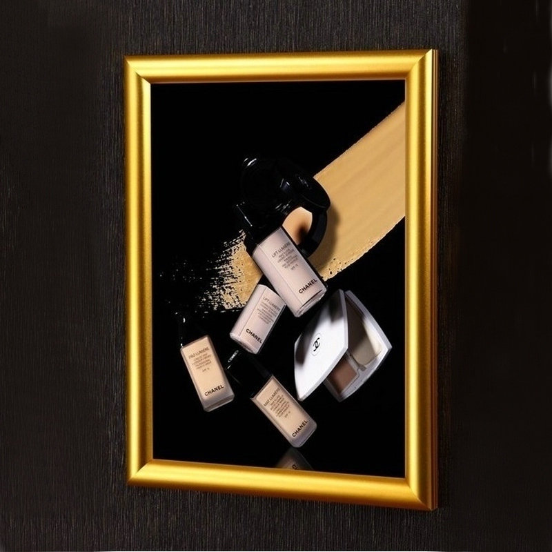 Yangyu знак светодиодной подсветкой оснастки рамы висит тонкий световой Коробки односторонний Дисплей световой короб