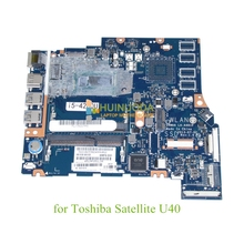 K000150700 LA-A481P main board For toshiba Satellite U40 M40 M45 14 inch laptop motherboard i5-4005 CPU Onboard DDR3