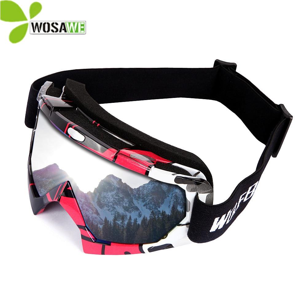 WOLFBIKE Invierno a prueba de viento Gafas de esquí Protección UV - Ropa deportiva y accesorios