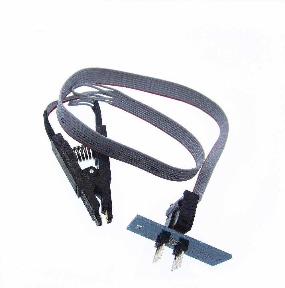 1pc SOIC8 SOP8 Test Clip For EEPROM 93CXX/25CXX/24CXX In-circuit Programming On USB Programmer TL866CS TL866A EZP2010 Newest