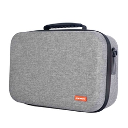 Waterproof Shockproof Travel Storage Bag Hard Carrying Case for Oculus Quest Vr Gaming Headset with Controller Inner Mesh Pock