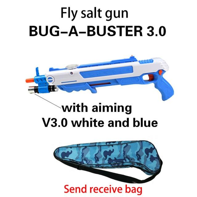 12type Hot Summer Gift Bug A Salt Fly Gun Salt Pepper Bullets Blaster pistola airsoft Gun kill Mosquito flyToy outdoor Salt Gun 1