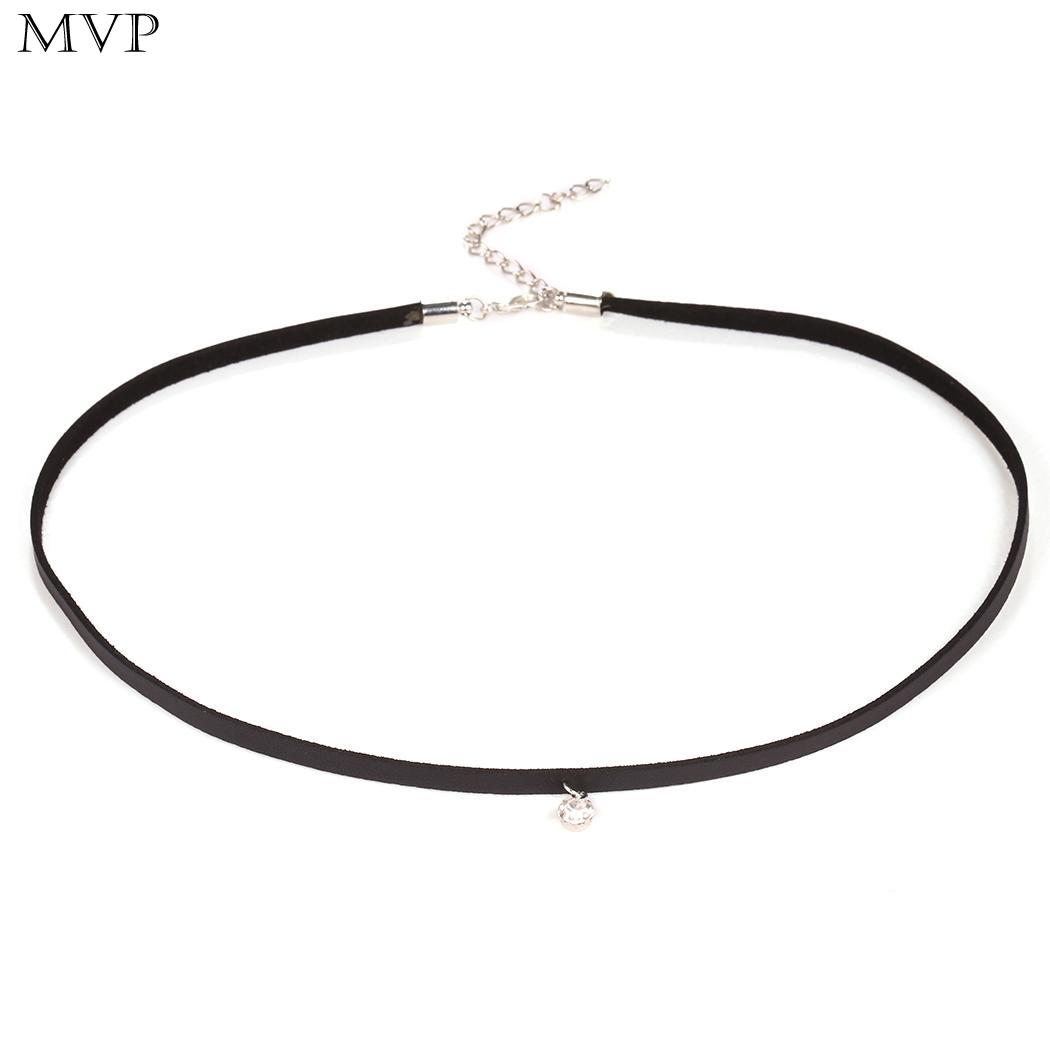 Fashion Velvet Women's Black Jewelry Rope Necklace Accessories Collar