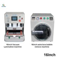 16 Inch Vaccum LCD OCA Laminating Machine Debubbler Machine For iPad Smart Phone Touch Screen Refurbish
