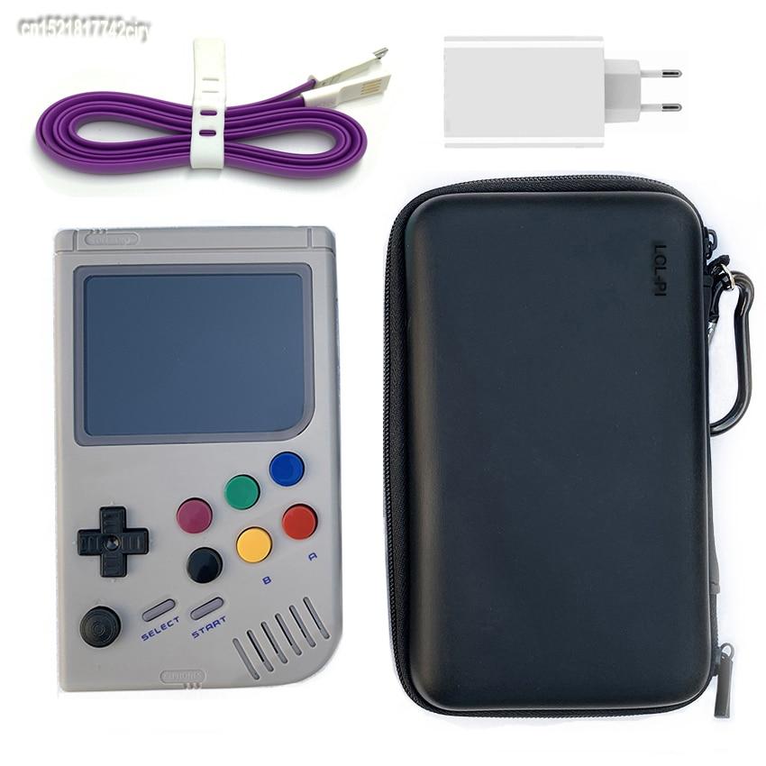 3.5 polegada PI Raspberry pi 3 A + LCL Boy Game console game player portátil console de vídeo game built 3200 ~ 5200 jogos