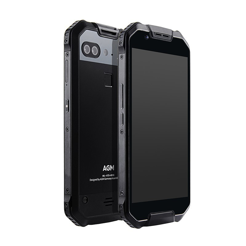 """AGM X2 SE IP68 Waterproof shockproof Mobile Phone 6000mAh 5.5"""" Android 7.1 6GB+64GB Qualcomm MSM8976SG Octa Core NFC Smartphone"""
