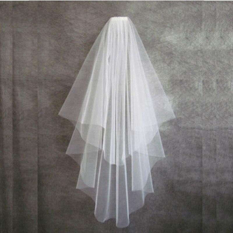 Hot Sale Elegant velo de novia voile mariage duvak voile de mariee