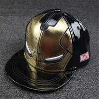 Nuevo Cool Iron Man Niños Niñas CAPS niños gorra de béisbol sombrero SnapBack hip hop sombreros visera sombreros niños casquette de béisbol