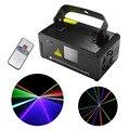 Nueva IR Remoto DMX 512 Mini 400 mW RGB A Todo Color láser Etapa de Iluminación del Escáner DJ Dance Party Mostrar Proyector Luces DM-RGB400
