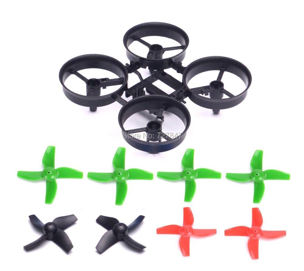 ᑐRC quadcopter Marcos y 4 unids propulsores azul para e010 0615 ...