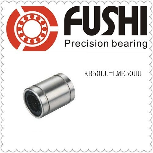 LME50UU  Ball Bushing 50x75x100 KB50UU Linear Motion Bearings CNC free shipping lm60uu 60mm linear bushing cnc linear bearings
