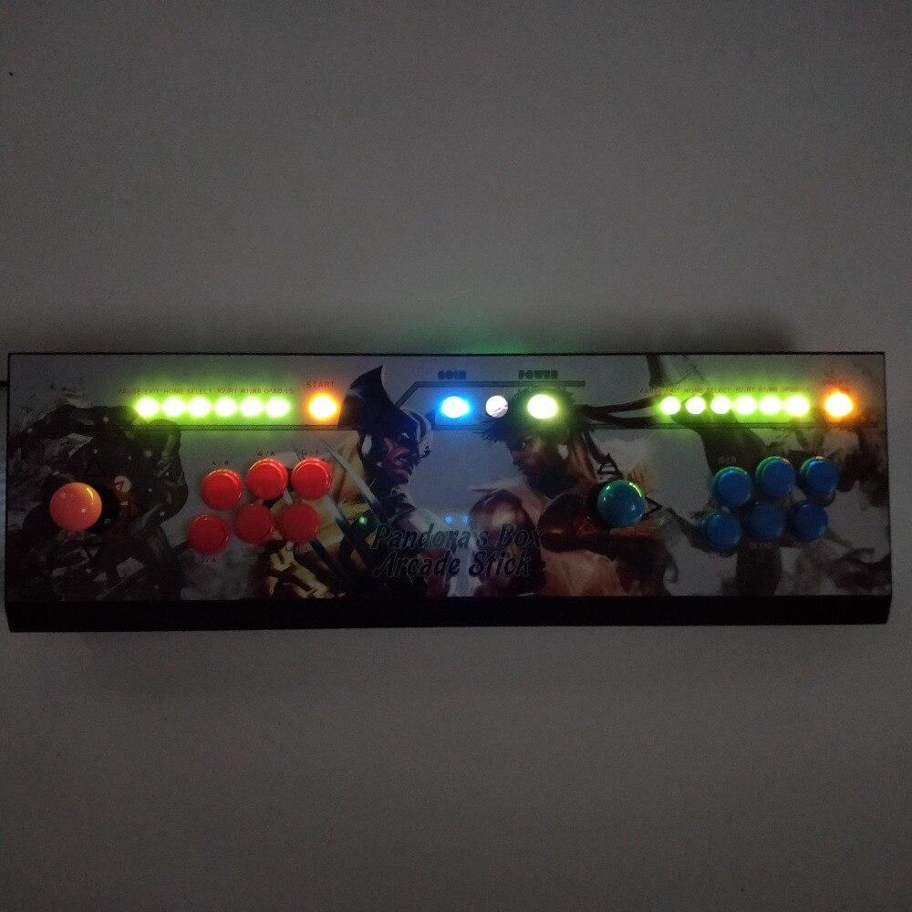 2 Player 16 GB/32 GB Pandora Box 6 1300 In 1 Arcade Spiel Konsole Können Hinzufügen Spiel HDMI VGA Usb Joystick Für Pc Video Kampfspiel Ps3 - 3