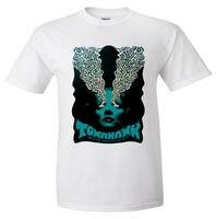Short Sleeve Hipster Tees Tomahawk Experimental Alternative Metal Rock T Shirt Tee