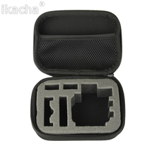 цена на Portable Small EVA Action Camera Case for GoPro Hero 7 6 for Xiaomi Yi 4K Sjcam Sj4000 Eken H9r Box Accessory