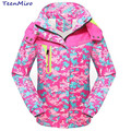Minnie Children Autumn Clothes Girl Jacket Coat Kids Baby Waterproof Windbreaker Clothing Sport Outerwear For Girls Hooded Parka