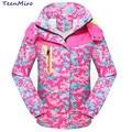 Minnie Children Autumn Clothes Girl Jacket Coat Kids Baby Waterproof Windbreaker Clothing Sport Outerwear For Girls Hooded Parka
