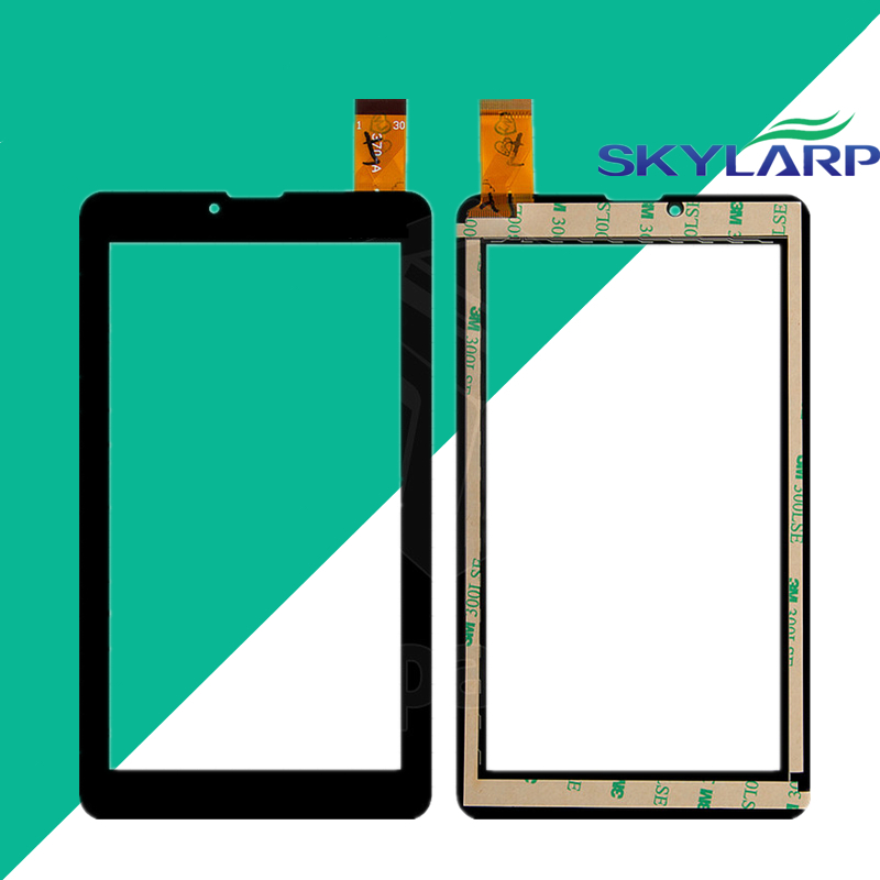 2 pcs of touch screen 7 Digma Hit 3G ht7070mg Tablet Touch panel Digitizer Glass Sensor Replacement With tracking number