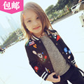 2016 spring autumn Girls Kids boys fashion casual baseball uniform jacket  comfortable cute baby Clothes Children Clothing 20W