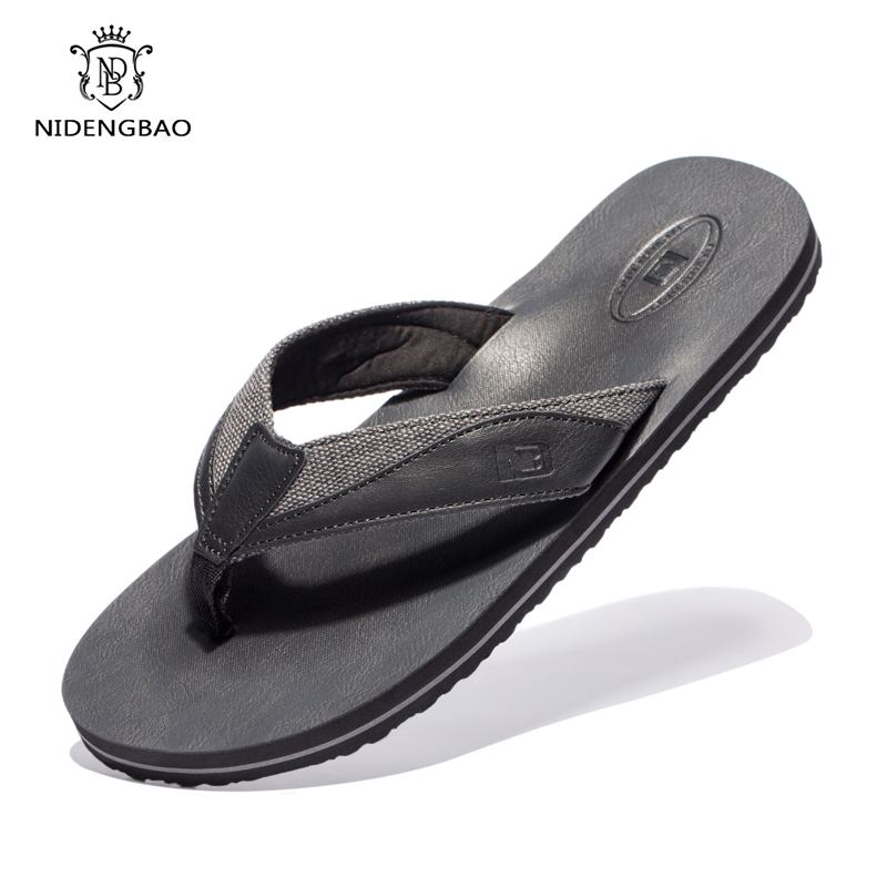 Beach Slippers Shoes Sandals Men flip-Flops Cool-Light Comfortable Big-Size Men's Fashion
