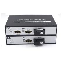 Высокое качество HDMI по Волоконно-Оптические медиаконвертеры передатчик и Recevier, 1080 P высокая defination супер стабильность передачи