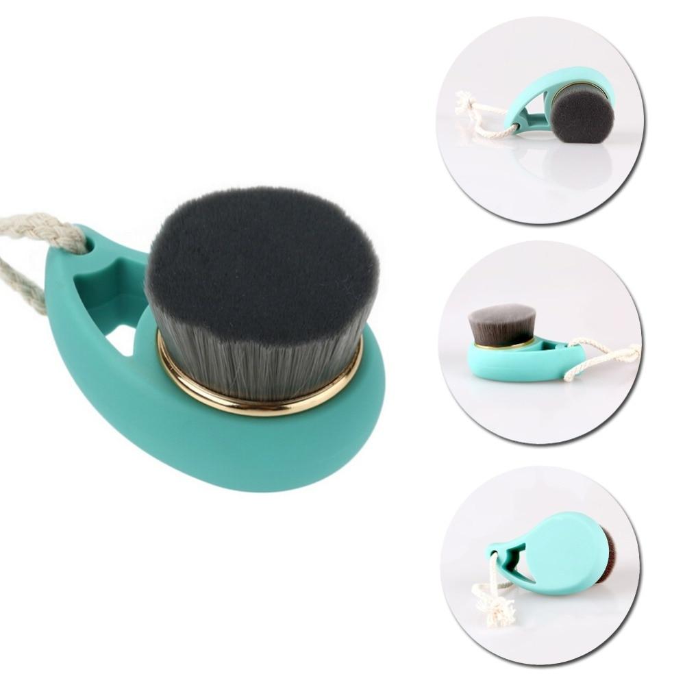 Soft Fiber Facial Brush Deep Cleansing Pore Care Face Massager Wash Brush Tools JL46 TF