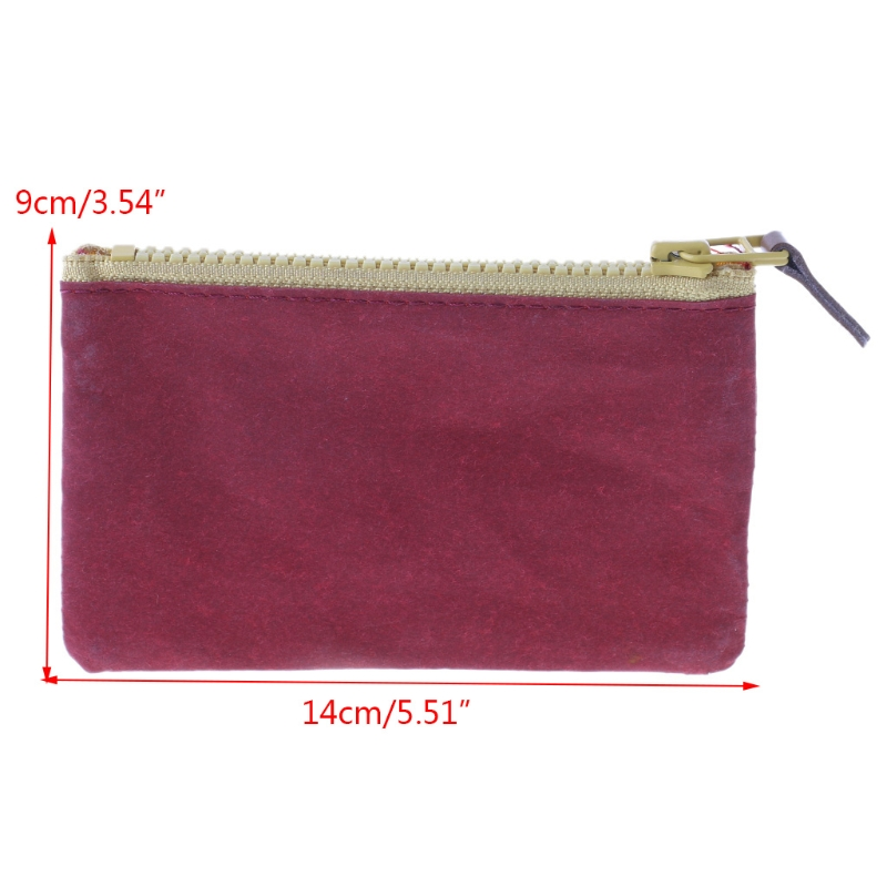 Women Mini Coin Change Purse Wallet Card Phone Holder Zipper Small Soft Bag