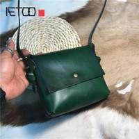 AETOO Tree cream retro bag wash water vegetable tan skin fashion lady handbag