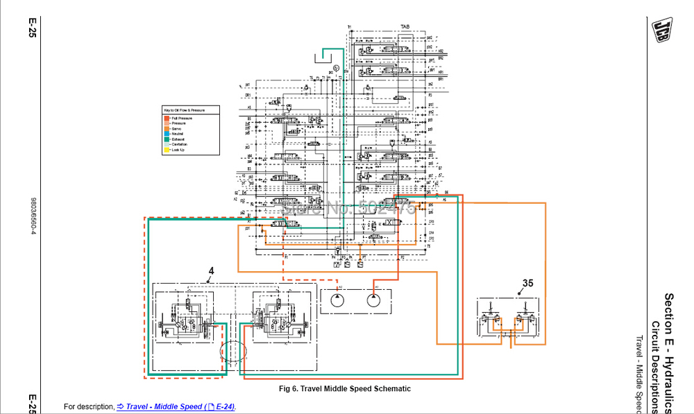 on jcb backhoe starter wiring diagram