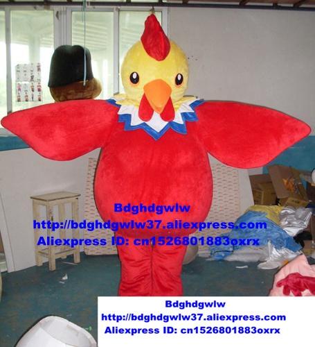 Gewissenhaft Rot Huhn Chook Hahn Hahn Henne Küken Maskottchen Kostüm Erwachsene Cartoon Charakter Touristischen Ziel Die Feiertagen Zx234 Einfach Und Leicht Zu Handhaben