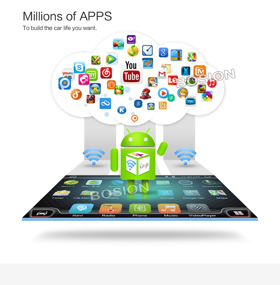 "экран Android ""2 United 3"