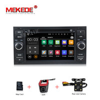 Android 7.1 Quad core 1024*600 2DIN Car DVD GPS Radio stereo For Ford Mondeo S max Focus C MAX Galaxy Fiesta Form Fusion Connect