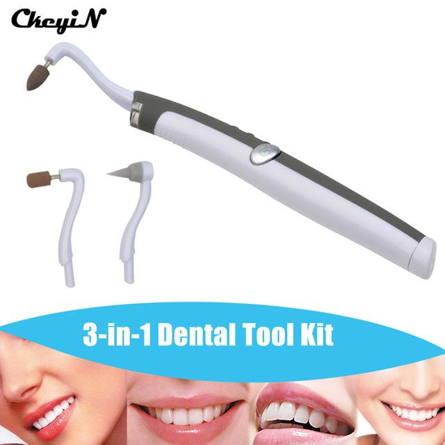 Clareamento dos dentes sonic multifunções portátil levou kit ferramenta dental higiene oral cuidados tooth stain eraser plaque remover hygien orais