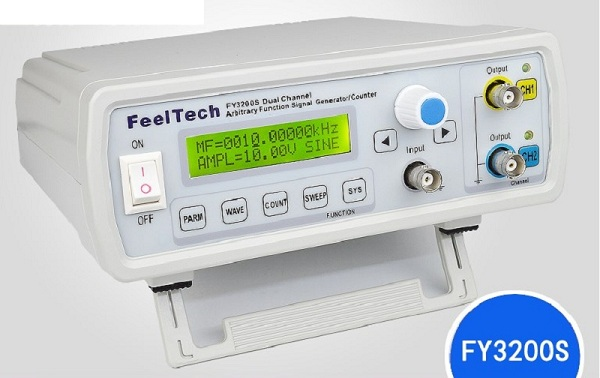 FY3200s générateur de Signal de fonction DDS de forme d'onde arbitraire à double canal de CNC complète/Source de Signal/compteur de fréquence