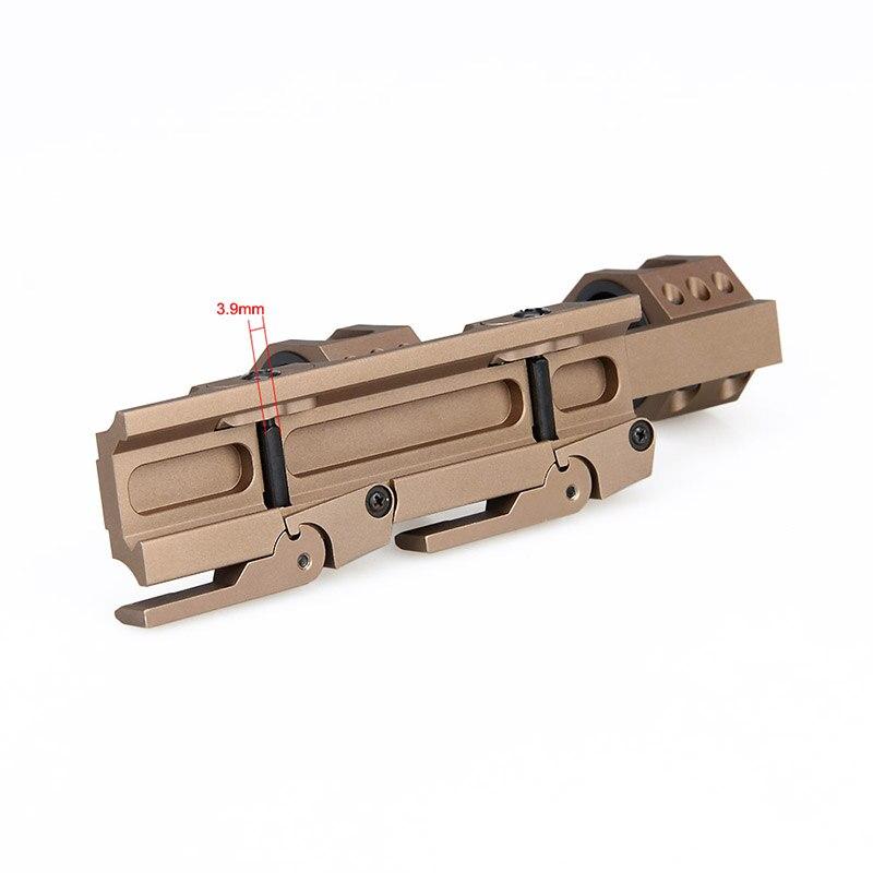 caça escopos montagens 25.4mm 30mm qd anéis