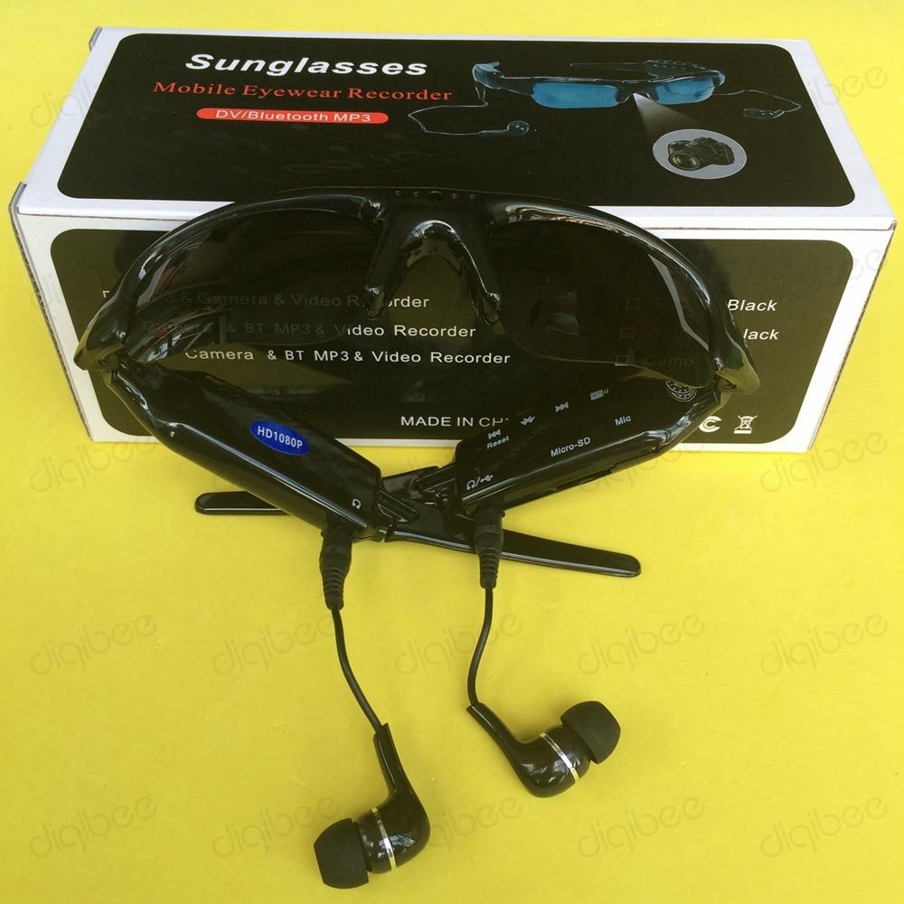 Mikrofonlu eynək kamerası ilə çox funksiyalı MP3 Bluetooth - Kamera və foto - Fotoqrafiya 6