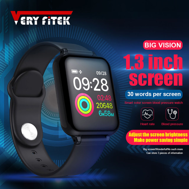 b9968f6a800a La mejor compra VERYFiTEK AW4 inteligente reloj de pulsera Fitness ...