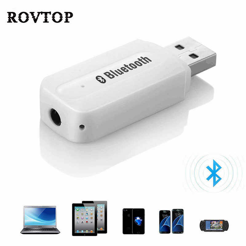 Bluetooth AUX Wireless Portable mini Bluetooth Music Audio Receiver Adapter 3.5mm Stereo Audio Bluetooth Car Kit for Phones #2