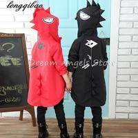 2 9T Kids Toddler Jackets For Boys Spring Autumn Clothing Dinosaur Hooded Windbreaker Waterproof Coat Children